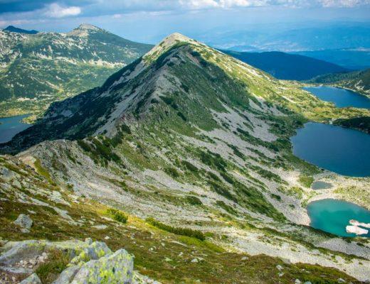 Кременски езера и Попово езеро, гледани от Джано
