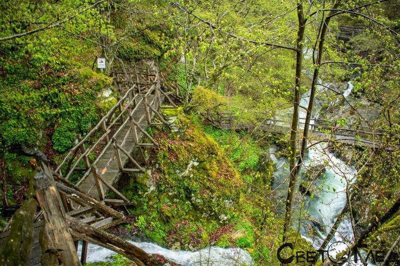 Екопътека Бяла река, Калофер