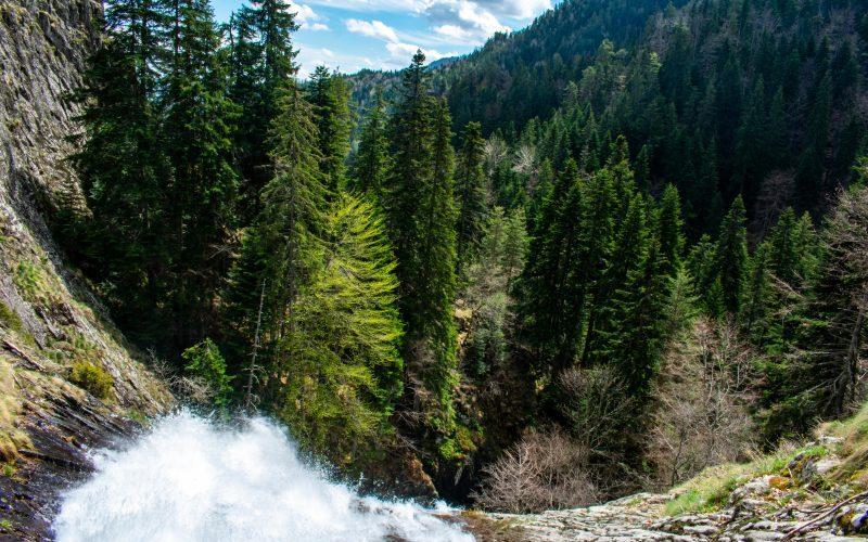 Водопад Орфей, Каньонът на водопадите, Смолян
