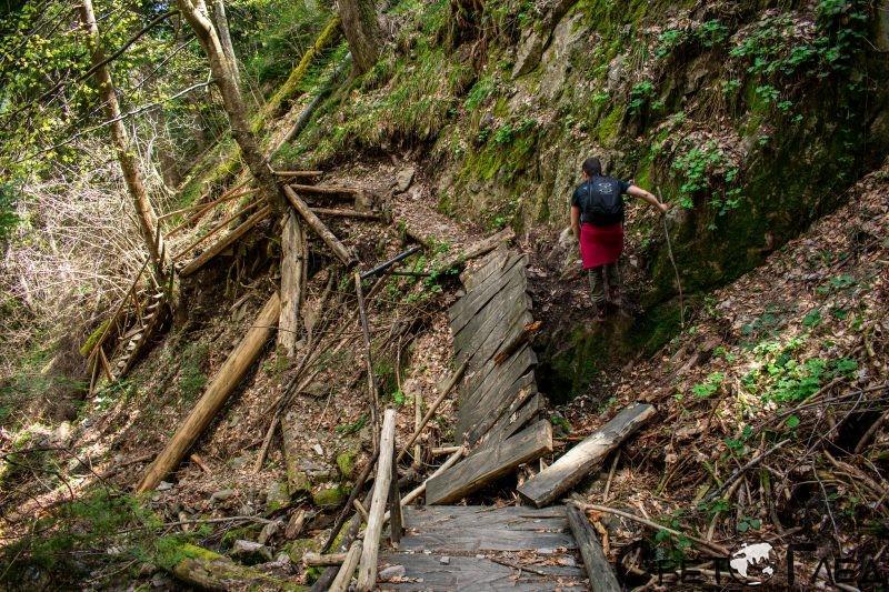 Каньонът на водопадите, Смолян
