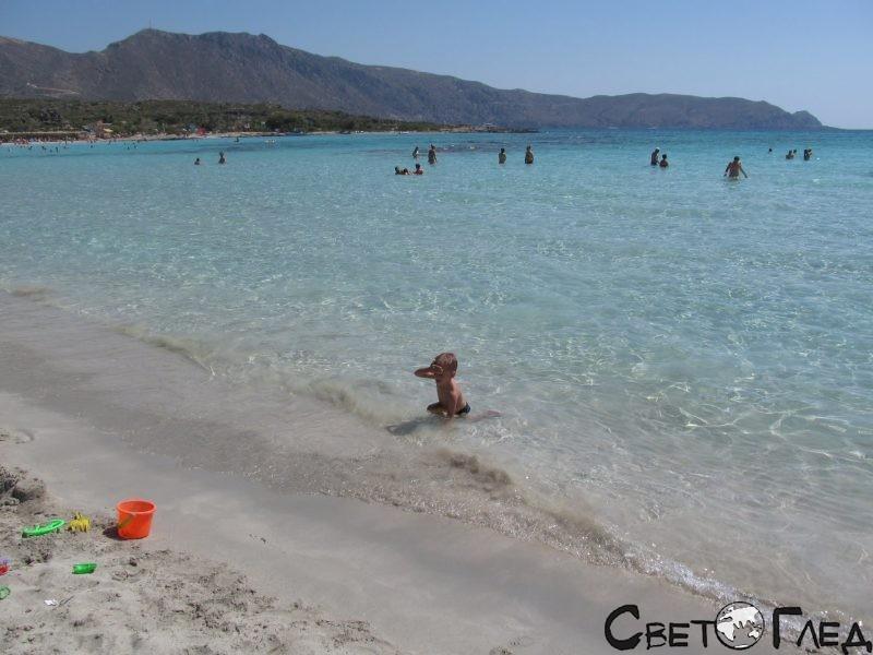 Елафониси, Крит
