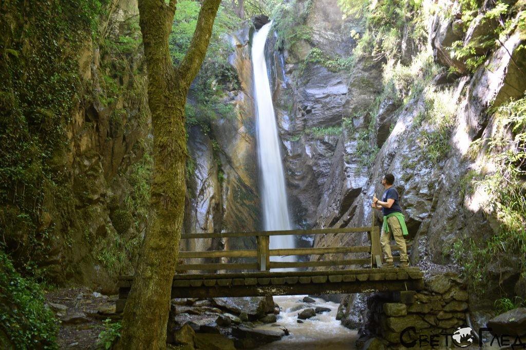 Каменишки водопад Срамежливеца