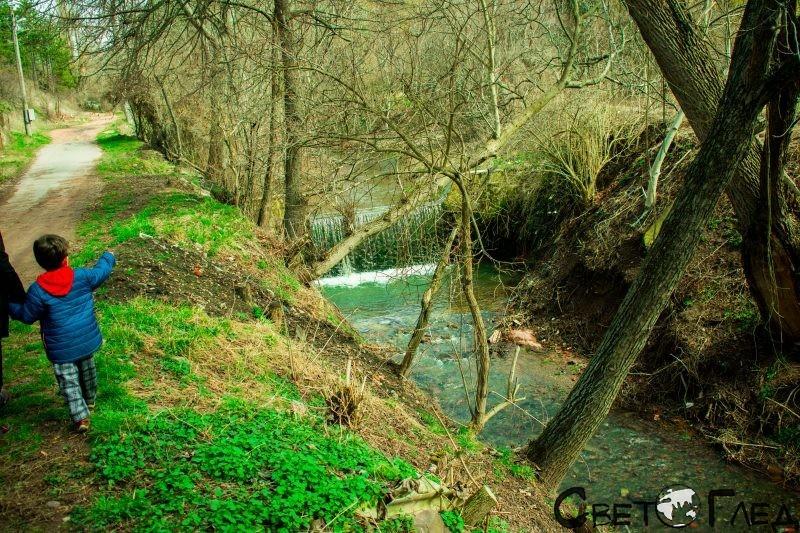 Локооско, първи водопад