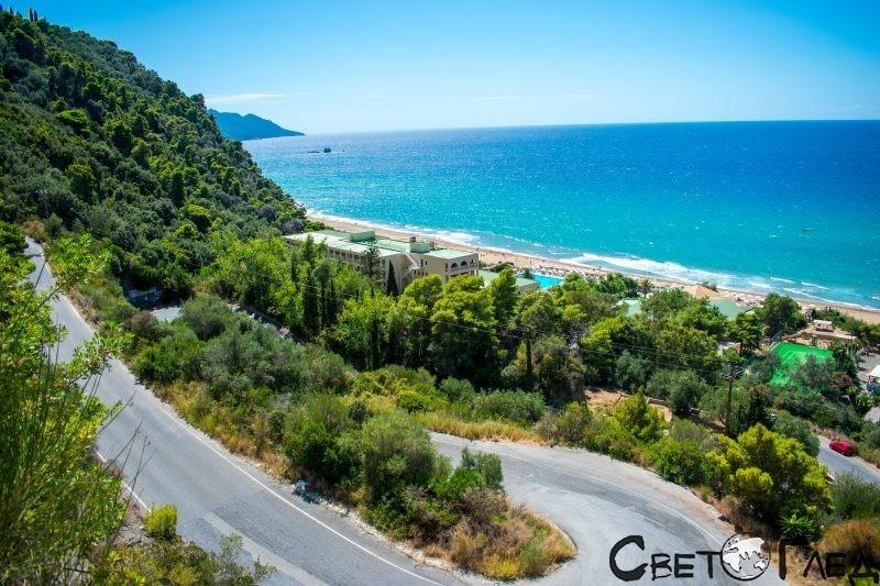Пелекас, остров Корфу