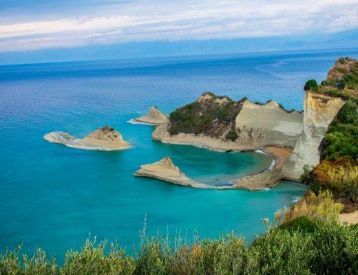 Нос Драстис, остров Корфу