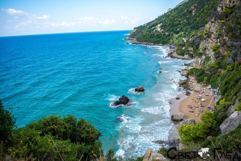 Mirtotissa, остров Корфу