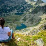 Митрово и Аргирово езеро, гледани от Джано