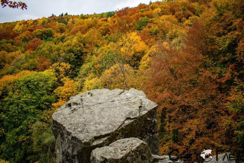 Скалата до Алековия водопад
