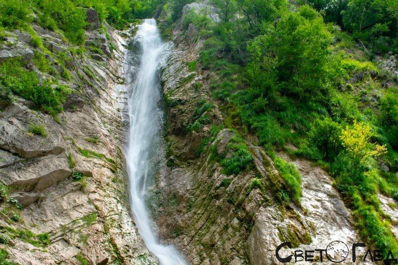 Водопад Грегорчич, Словения
