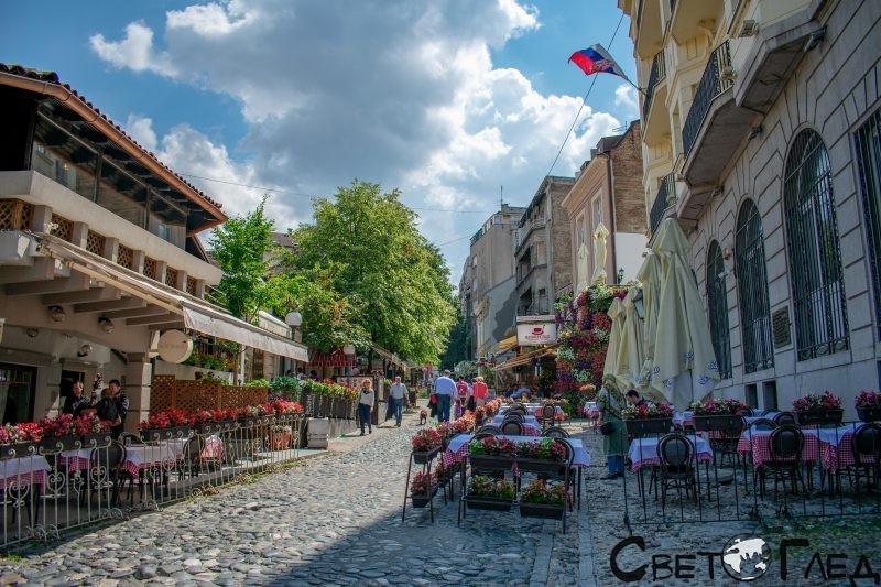 Улица Скадарлия, Белград