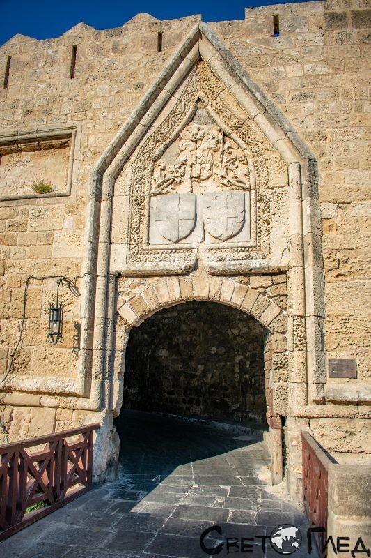 Портата на Свети Йоан, Родос