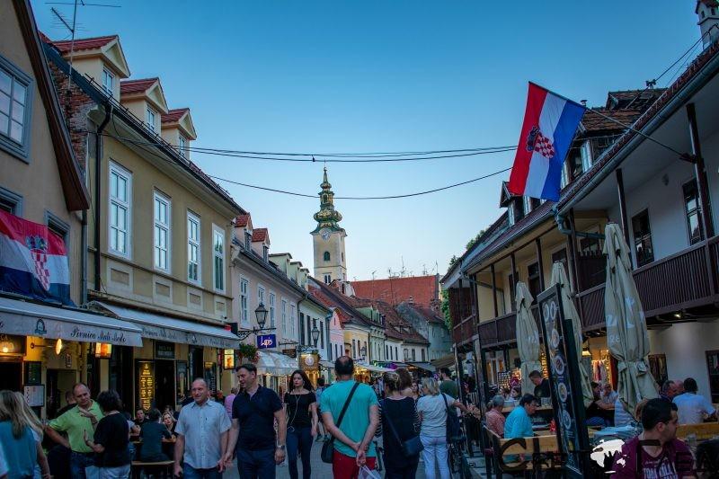 Улица Кожарска, Загреб