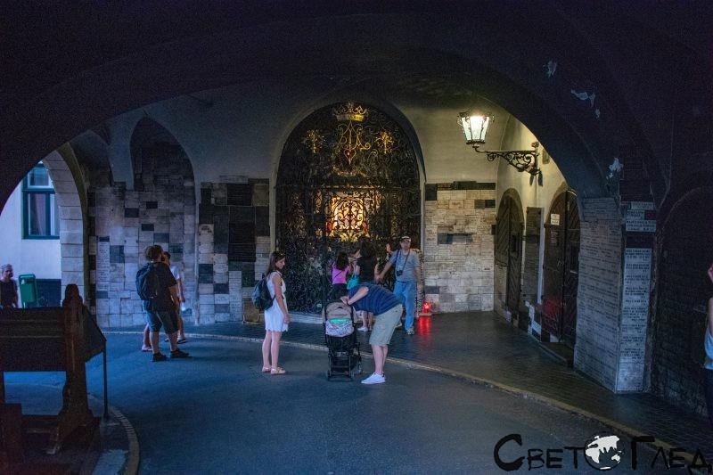 Каменната порта, Загреб