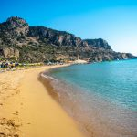 Tsambika beach, Родос