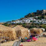 Lindos beach, остров Родос