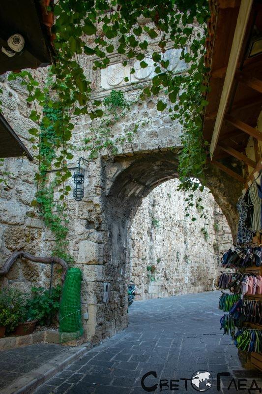 Порта Арналдо, Родос