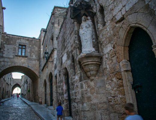 Старият град на Родос