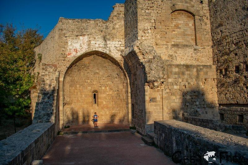 Портата Акандия, Родос