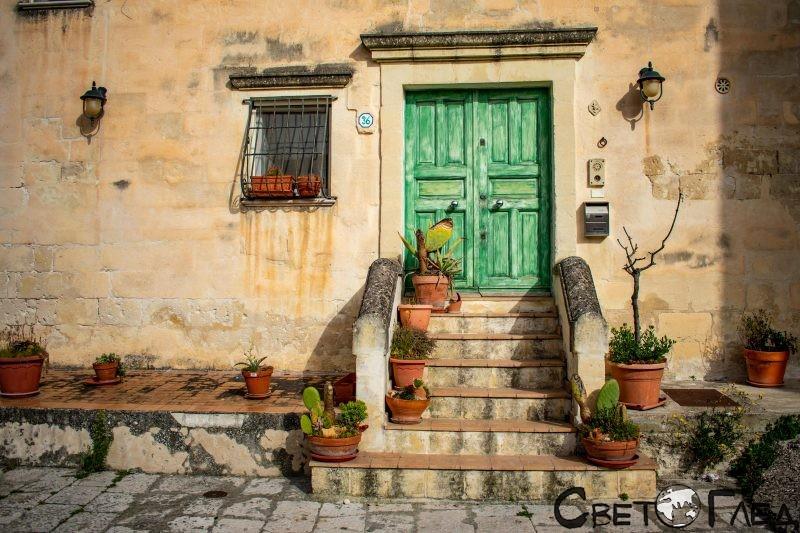Саси ди Матера, Италия