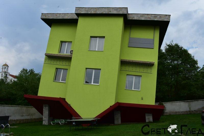 Обърнатата къща, с. Марчево
