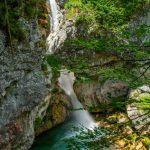 Водопад Можница, Словения