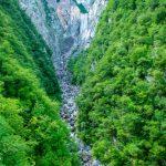 Водопад Бока, Словения