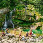 Водопад Вирйе, Словения