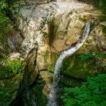 Към водопад Козяк, Словения