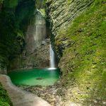 Водопад Козяк, Словения