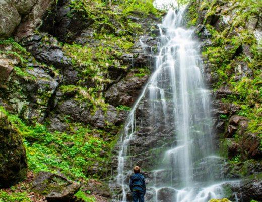 Водния скок, Копренските водопади