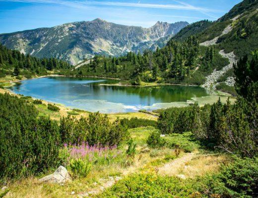 Поглед към Рибно Василашко езеро