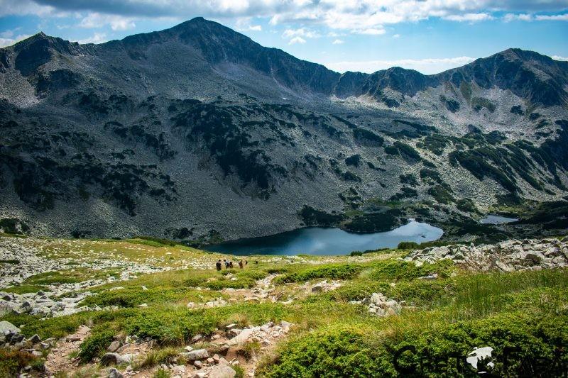 От Малка Тодорка към Дългото Бъндеришко езеро