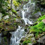 Водопадът към х. Марица