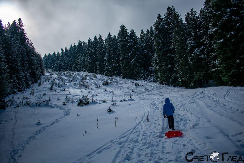 ски писта Говедарци